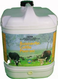 20 Litres Single Drum of Ausmectin Brand Cattle Pour-On