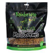 Freeze Dried Australian Mealworms - 250g
