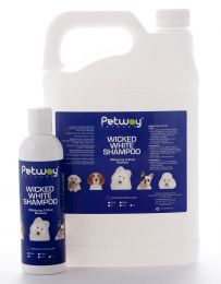 Petway Wicked White Shampoo 250mL - 5 Litre
