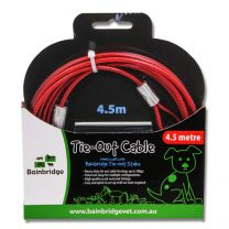 Bainbridge Dog Tie Out Cable 4.5 Metre
