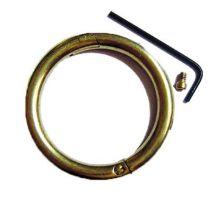 Bull Nose Ring Brass Dairy 76mm x 8mm