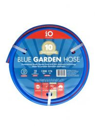 iO Blue Garden Hose 12mm x 18mt Independents Own