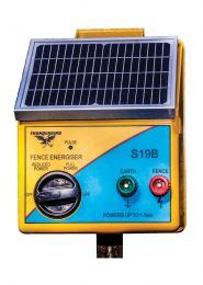 Thunderbird S19B Solar Electric Fence Energiser 1.5Km