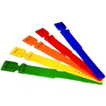 Red Plastic Leg Bands for Cattle