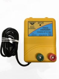 15km Mains Electric Fence Energiser (M125)