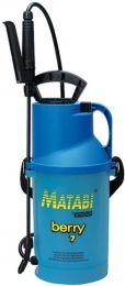 Compression Sprayer 5 Litre Berry 7 Matabi
