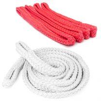 12mm Flat Braid Calving Rope Red