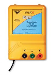 130km Mains Electric Fence Energiser (M1680R)