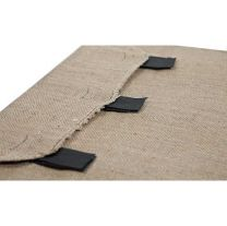 Superior Pet Hessian Replacement Bed Cover - Large