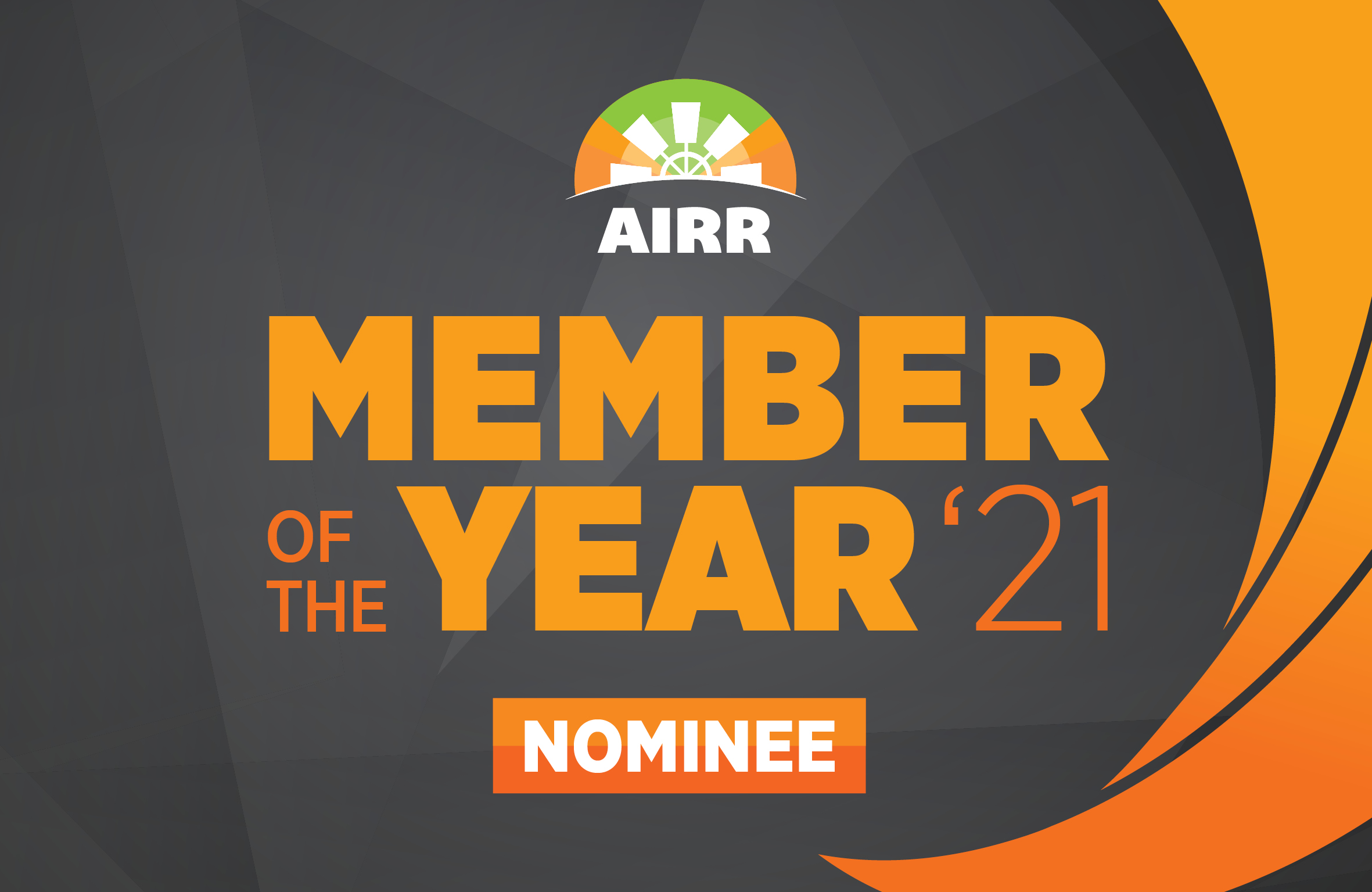 Farmer's Mailbox nominated for the AIRR's 'Member of the Year 21' award for Victoria.
